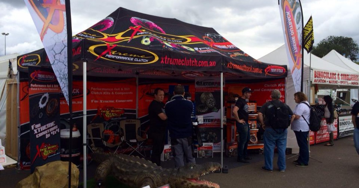 George is out and about at the Sydney 4WD & Adventure Show