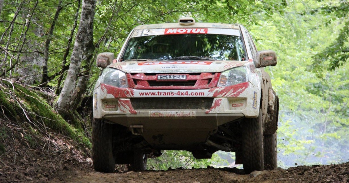 Andrieu Wins Historic Title in French National 4x4 Rally Championship